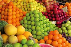 Gemüse und Obst Detox