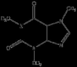 Koffein Formel