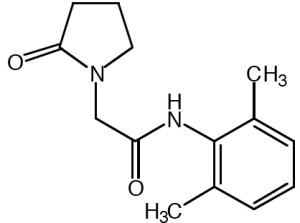 Nefiracetam Formel