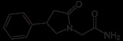 Phenylpiracetam Formel